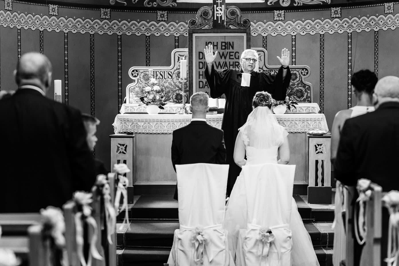 Hochzeit - Trauung in der Kirche