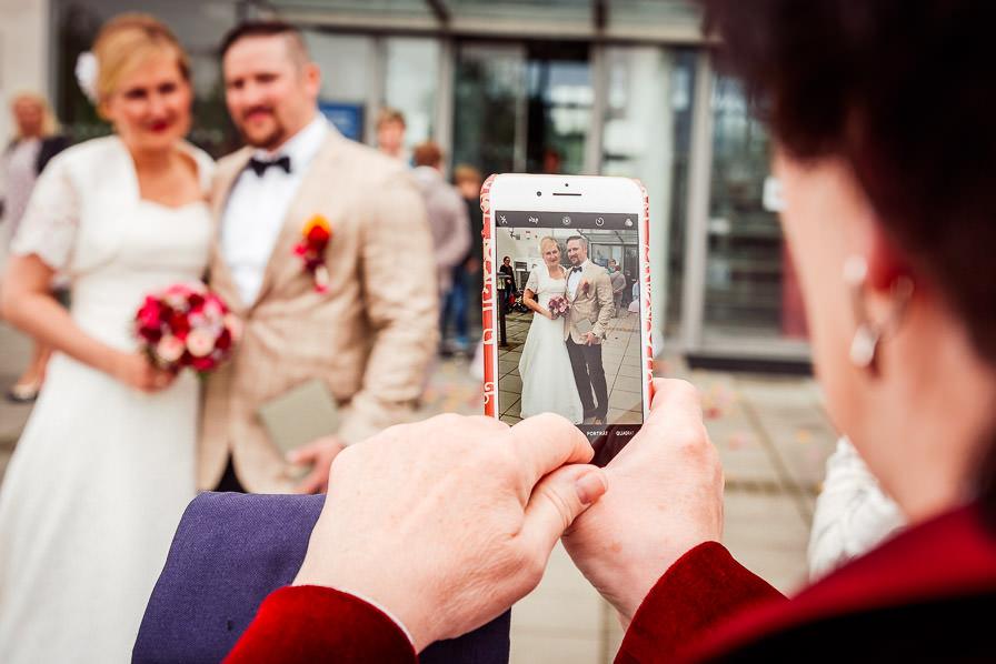 Hochzeitsreportage Berlin mit Brautpaar