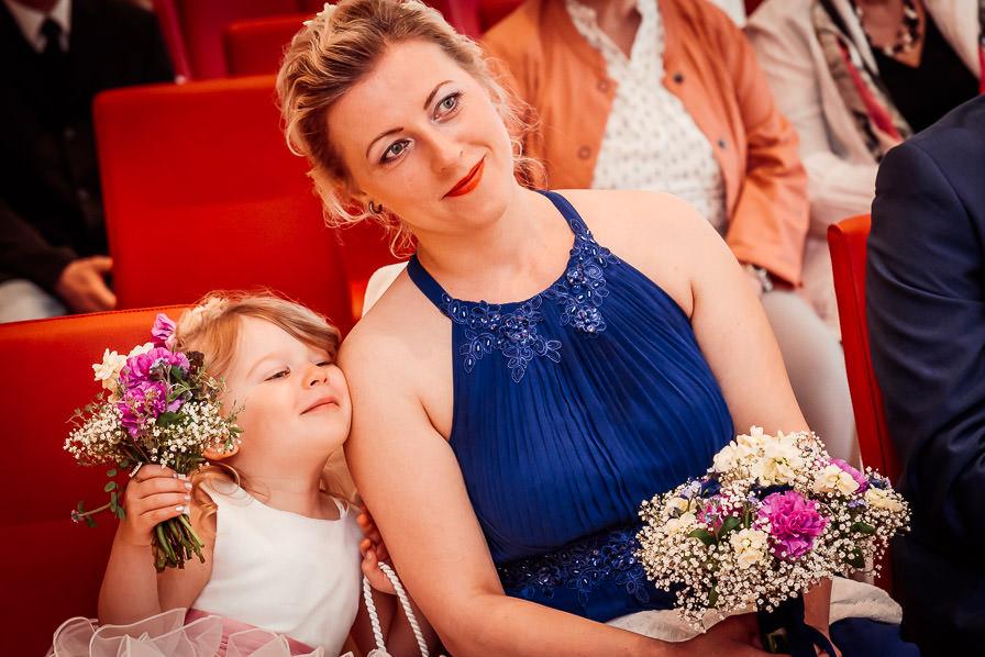 Portrait der Braut - fotografiert von Hochzeitsfotograf Senftenberg