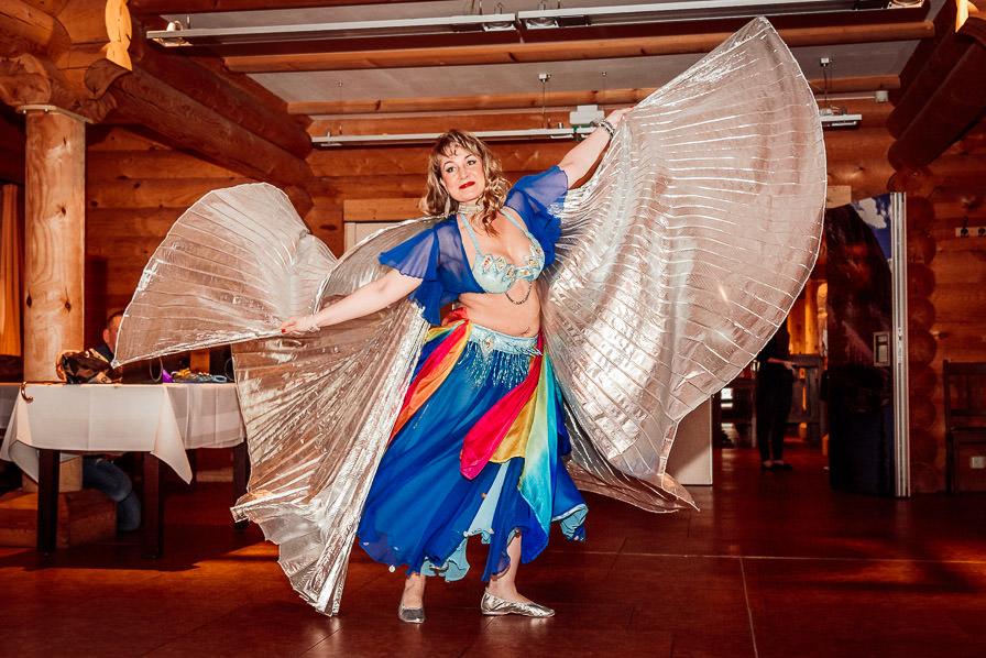 Bauchtänzerin bei der Hochzeitsfeier im LIDO Senftenberg