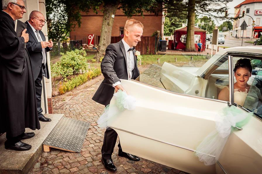 Hochzeitsauto Cadillac