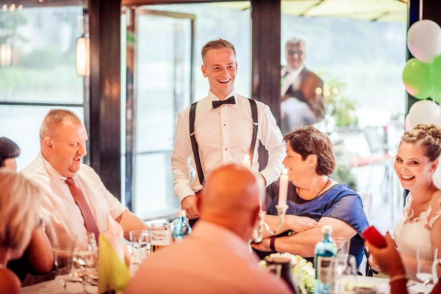 Bräutigam - fotografiert von Christian Menzel, Hochzeitsfotograf Berlin