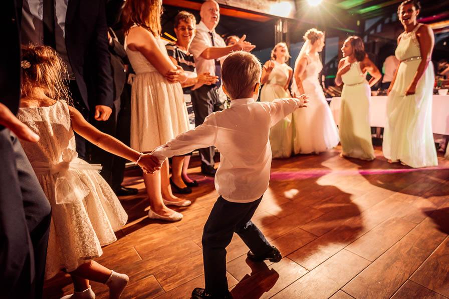 Action auf dem Dancefloor