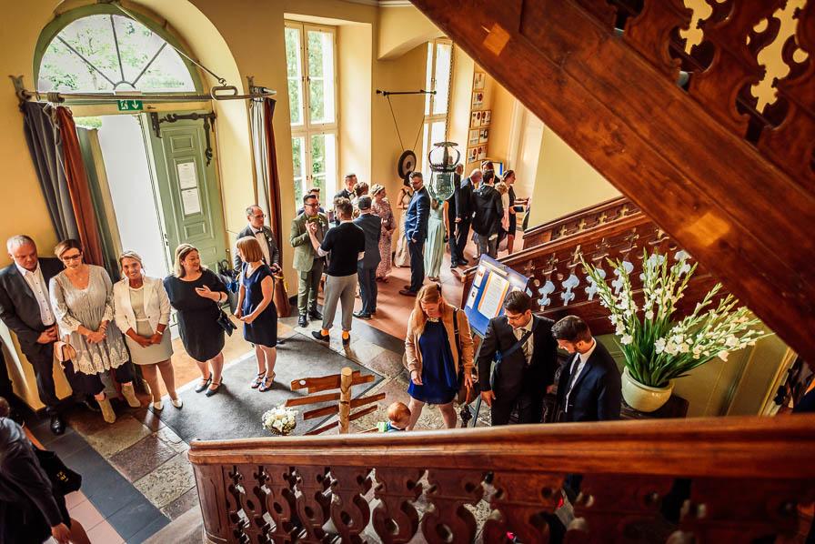 Hochzeitsgesellschaft Trauzimmer Schloss Ziethen