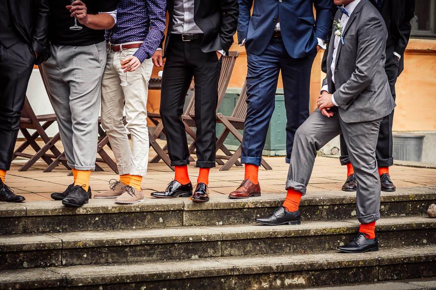 Bunte Socken bei den Herren