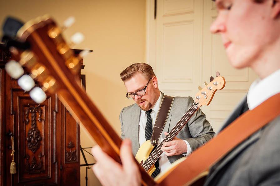 Bassist - fotografiert von Christian Menzel