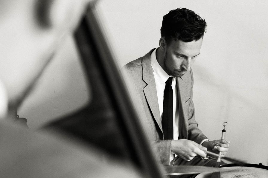 Schlagzeuger - fotografiert von Christian Menzel