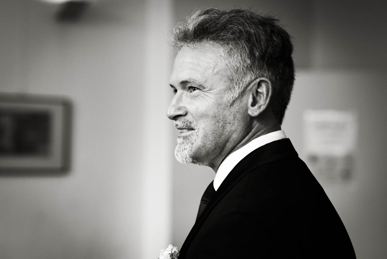 Portrait des Bräutigams