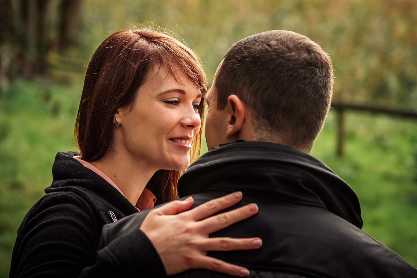 Verlobungs-Shooting am Wannsee