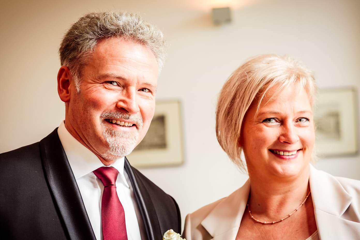 Brautpaar vor der Trauung