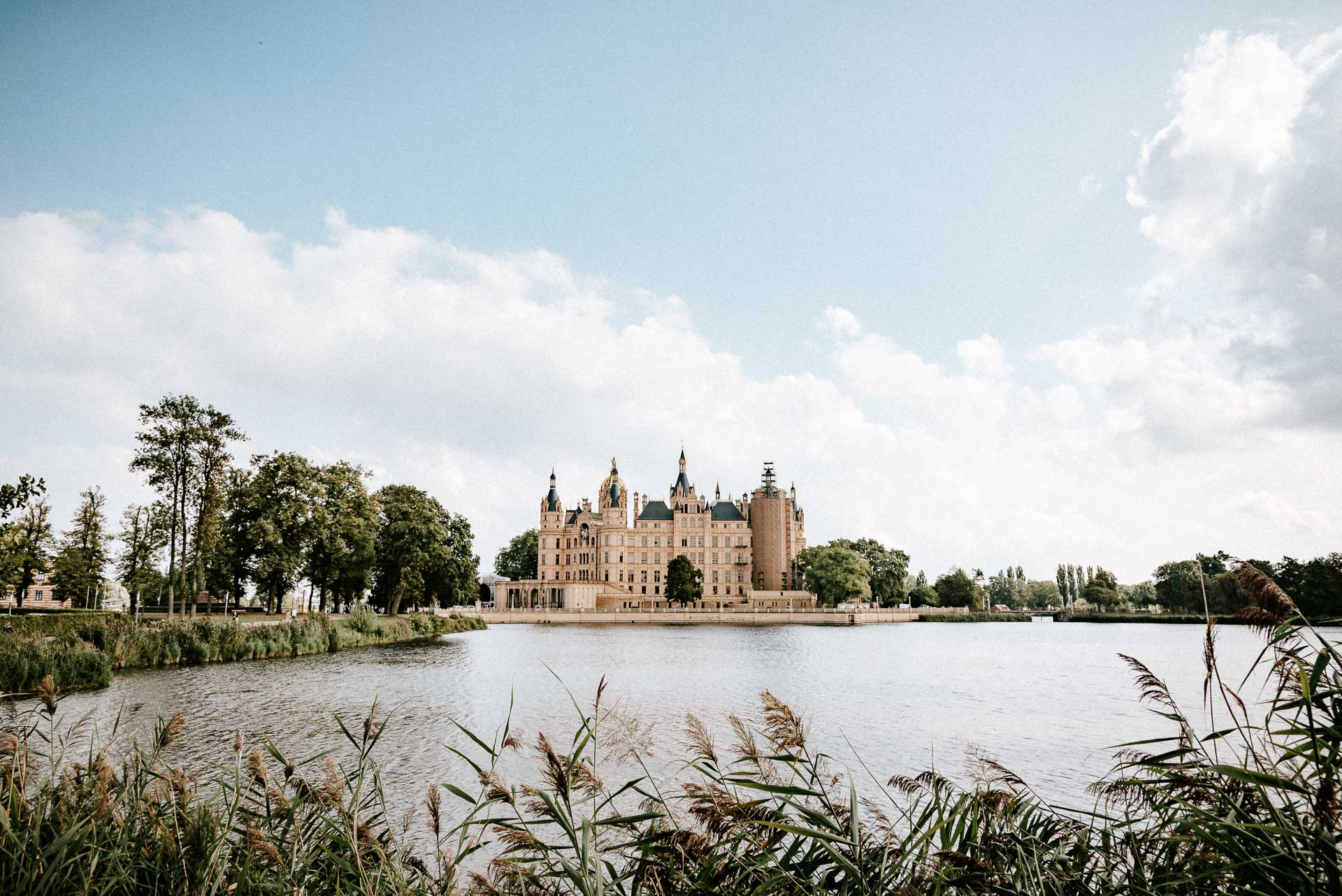 Schweriner See mit Schloss