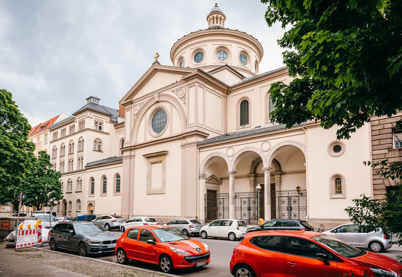 Kirche in Kreuzberg