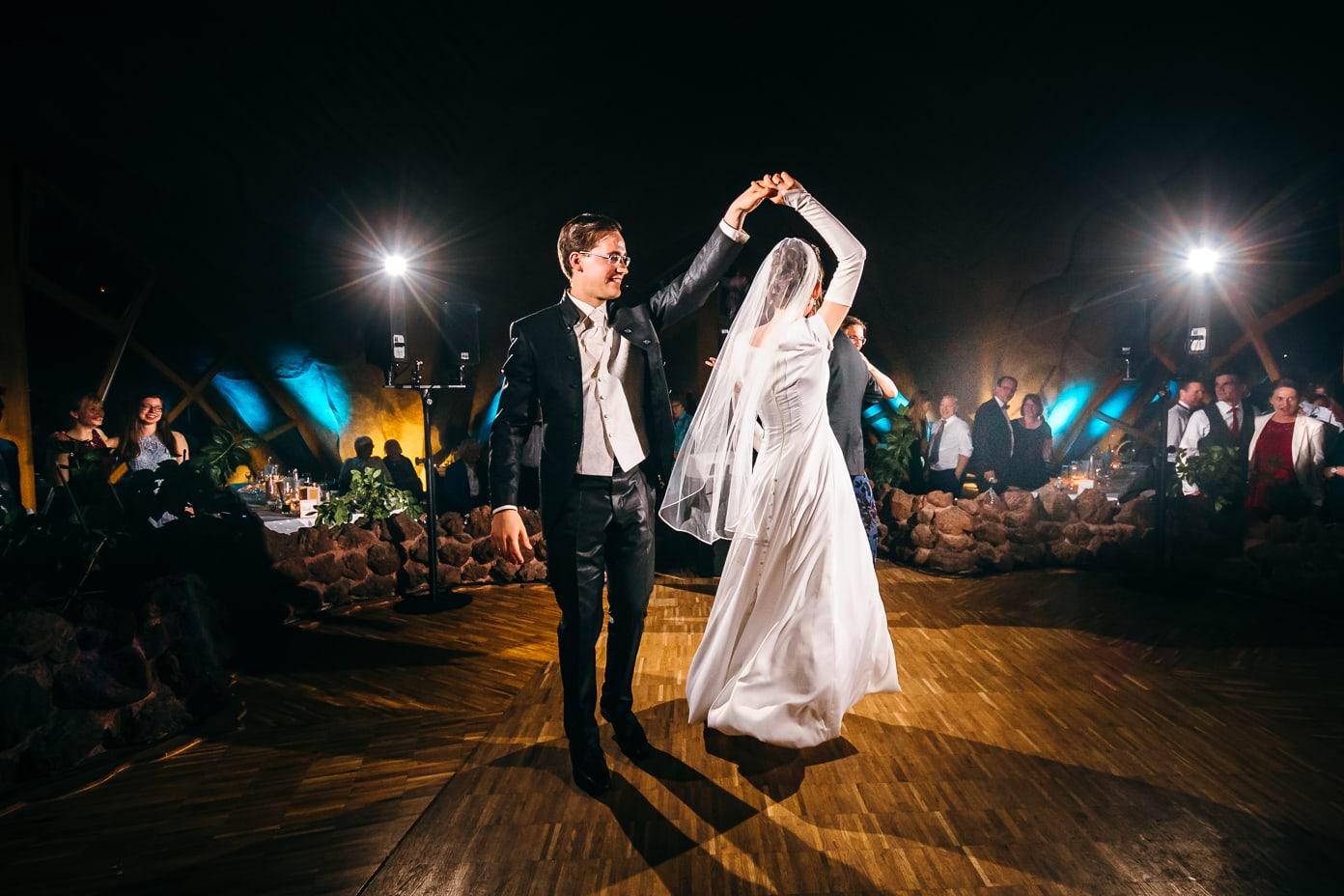 Erster Tanz in der Britzer Seeterrasse