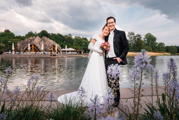 Hochzeit im Britzer Garten, Berlin