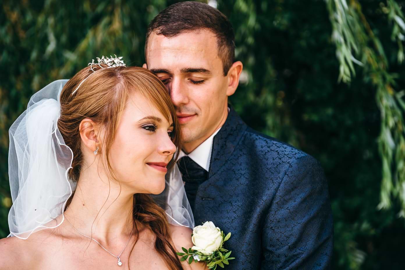 Brautpaar beim Paarshooting in Rangsdorf