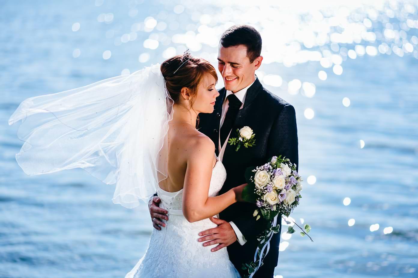 Brautpaar am Rangsdorfer See