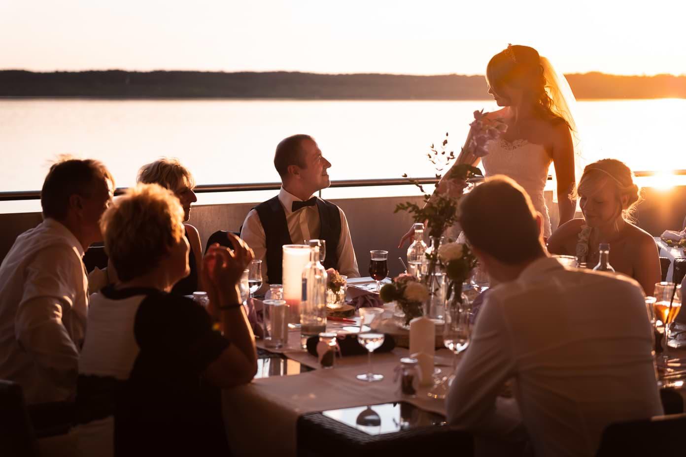 Hochzeit auf der Insel Falkenstein