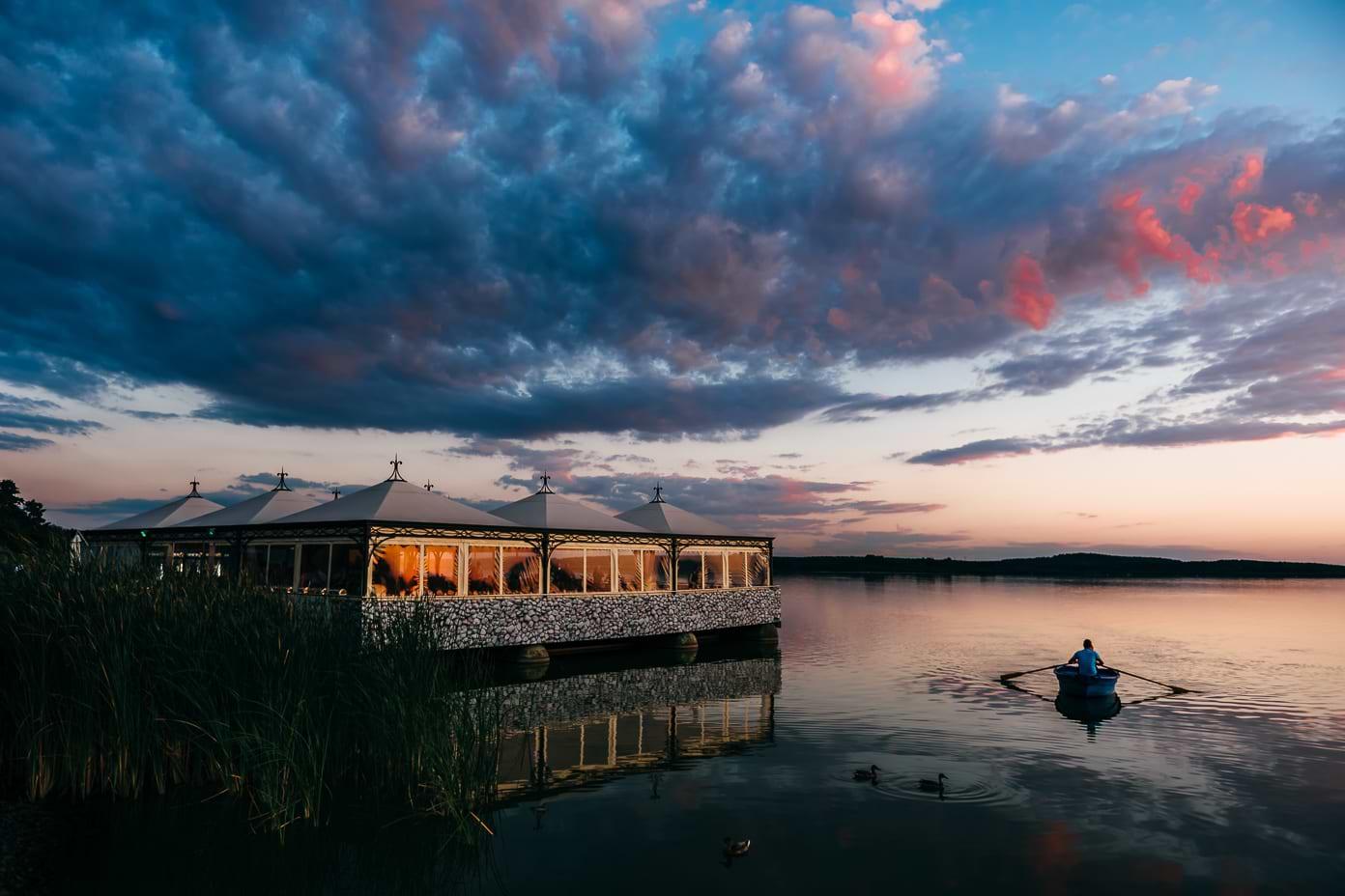 Abendstimmung am Rangsdorfer See