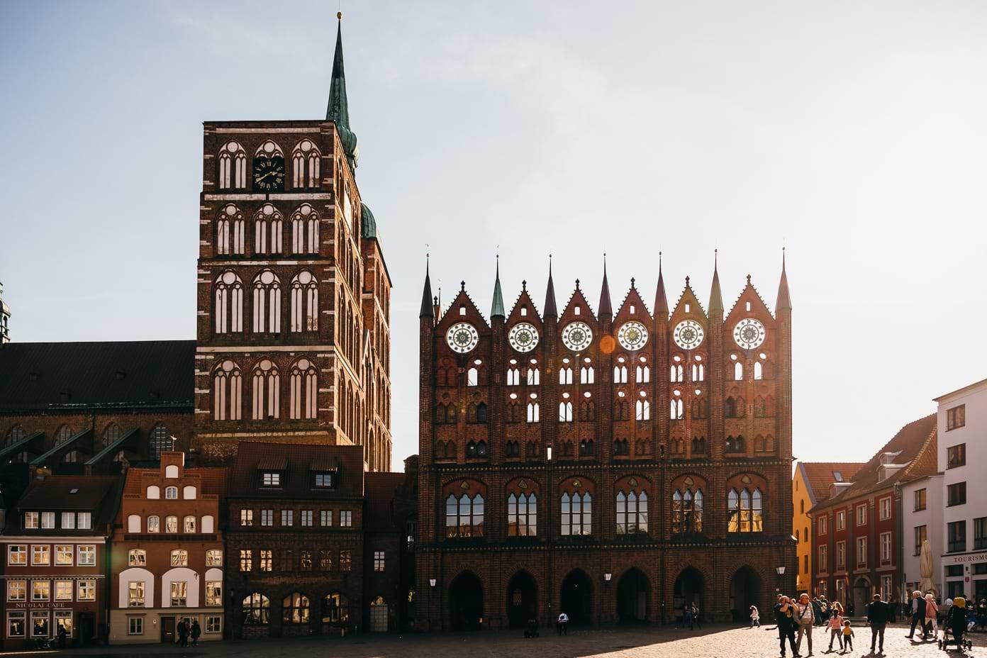 Marktplatz in Stralsund