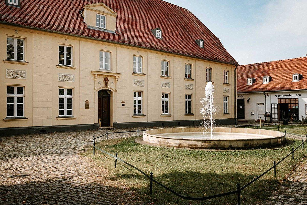 Ansicht Schloss Diedersdorf