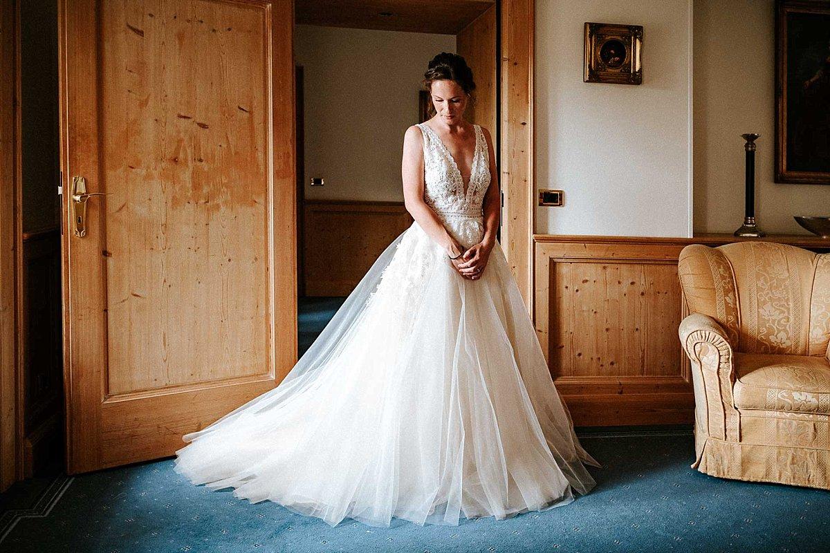 Braut auf Schloss Diedersdorf