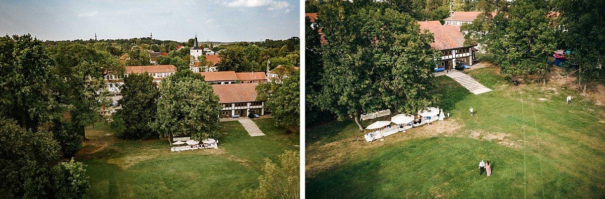 Luftbilder Markthalle Schloss Diedersdorf