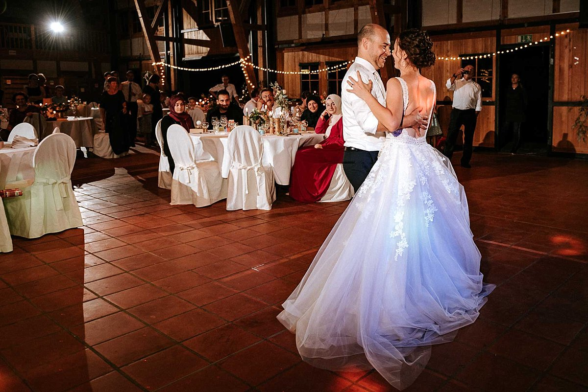 Erster Tanz des Brautpaares