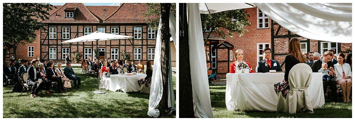 Trauung im Garten des Schleswig-Holstein-Hauses