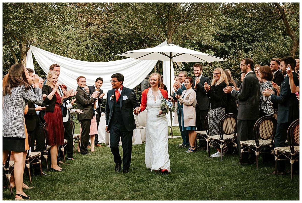 Das frisch vermählte Brautpaar