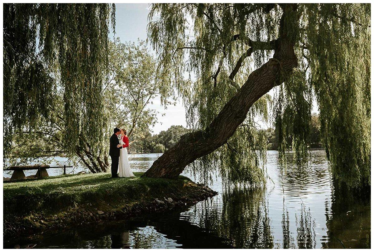 Brautpaar am Schweriner See