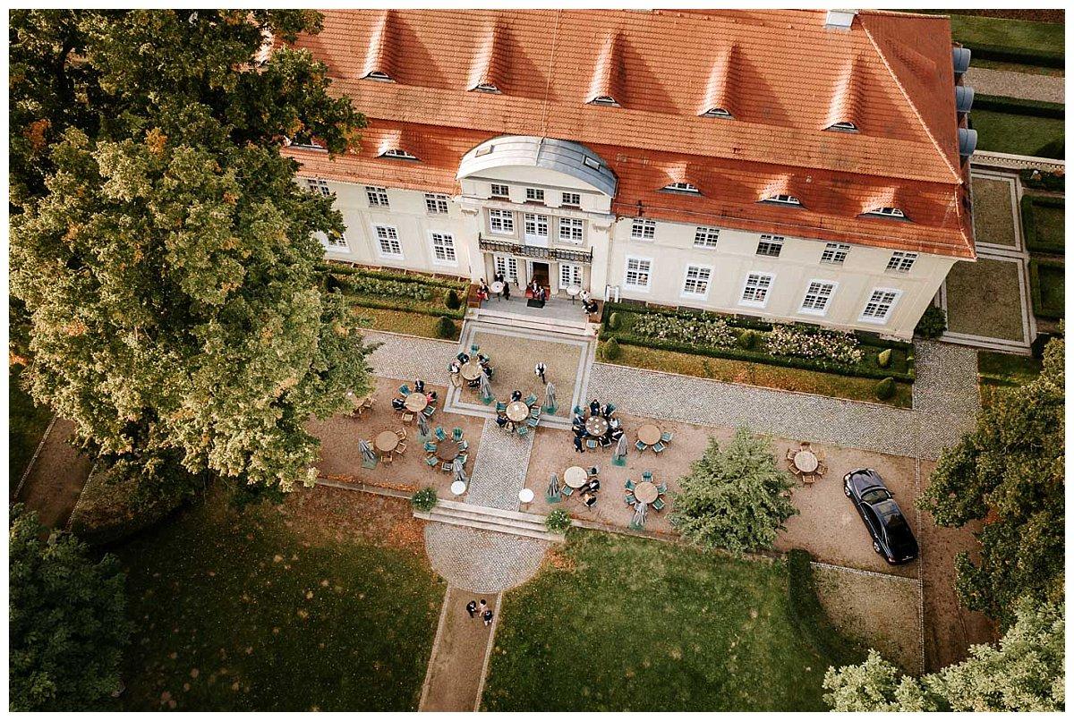 Drohnenfoto Schloss Hasenwinkel