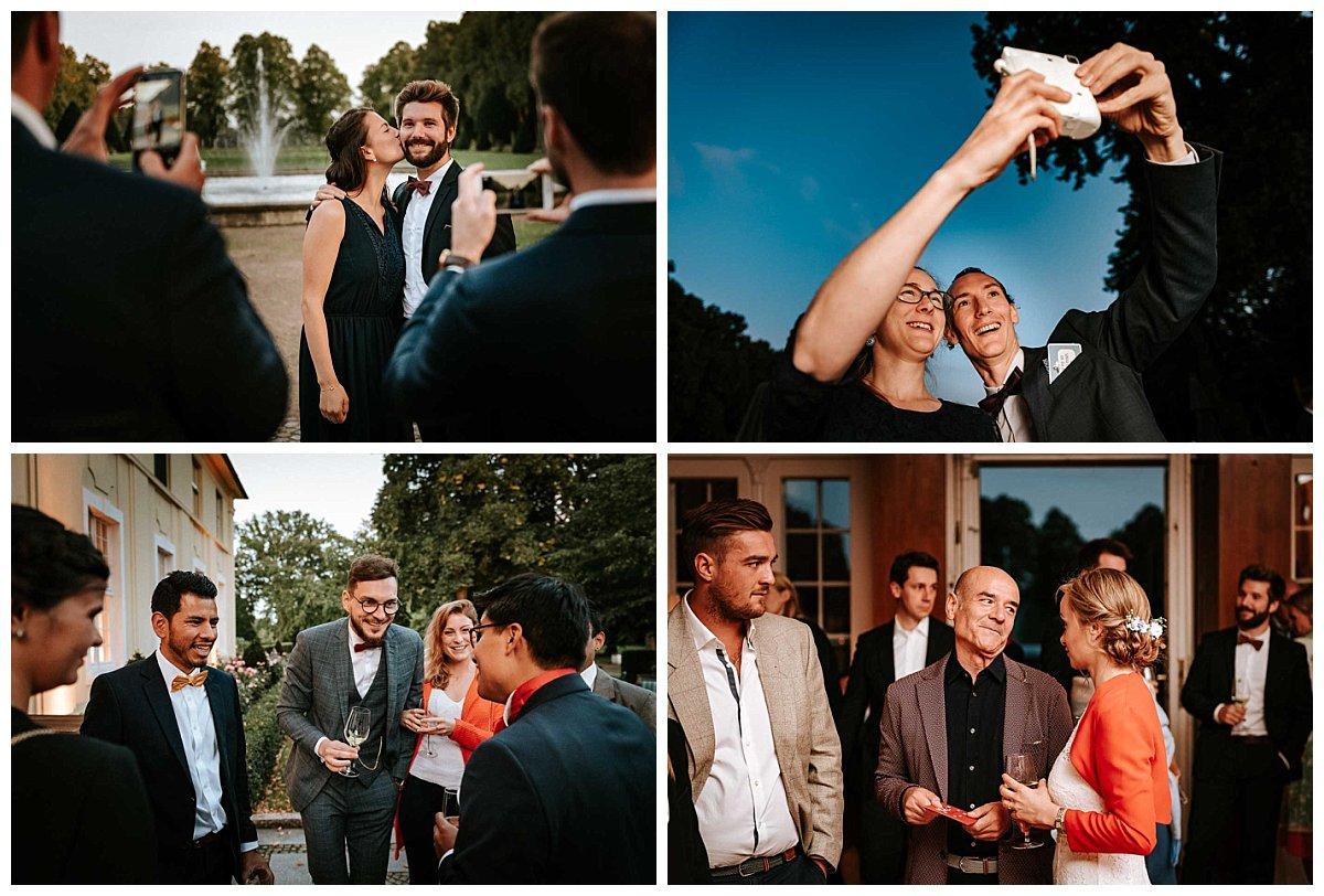 Momentaufnahmen Hochzeitsfeier Schloss Hasenwinkel