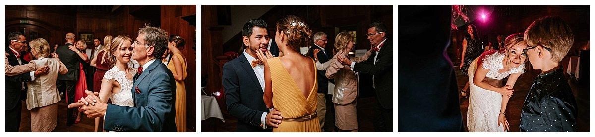 Hochzeitsparty Schloss Hasenwinkel