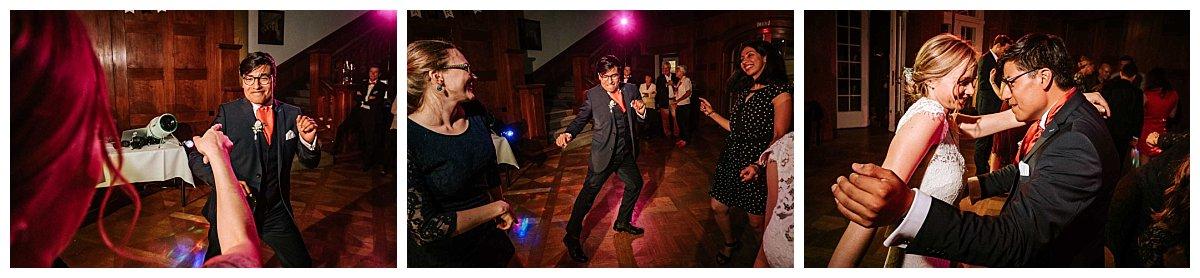 Der Bräutigam rockt die Party!