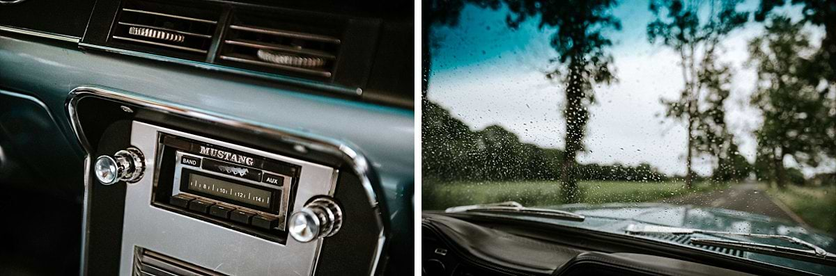 Details im Ford Mustang