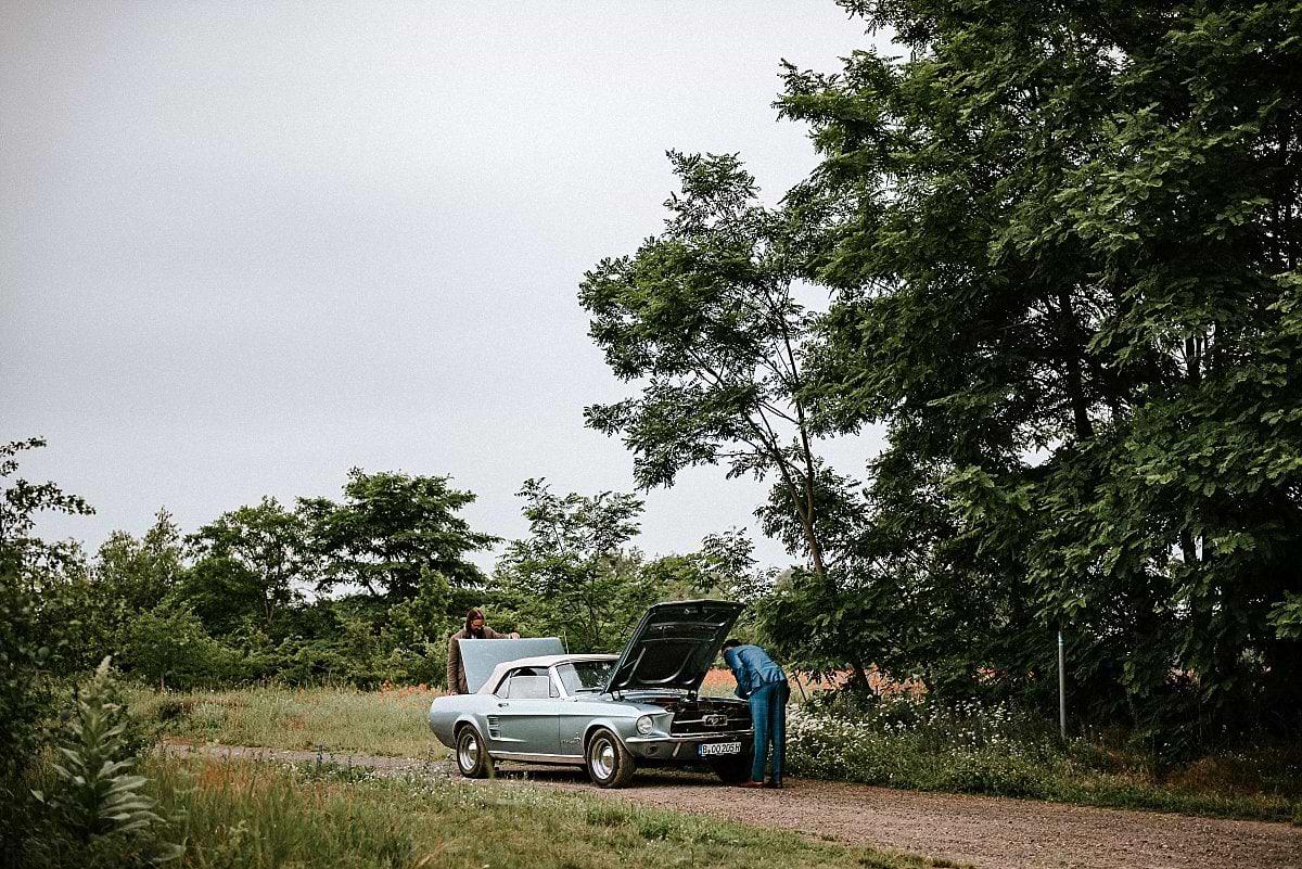 Defekter Mustang